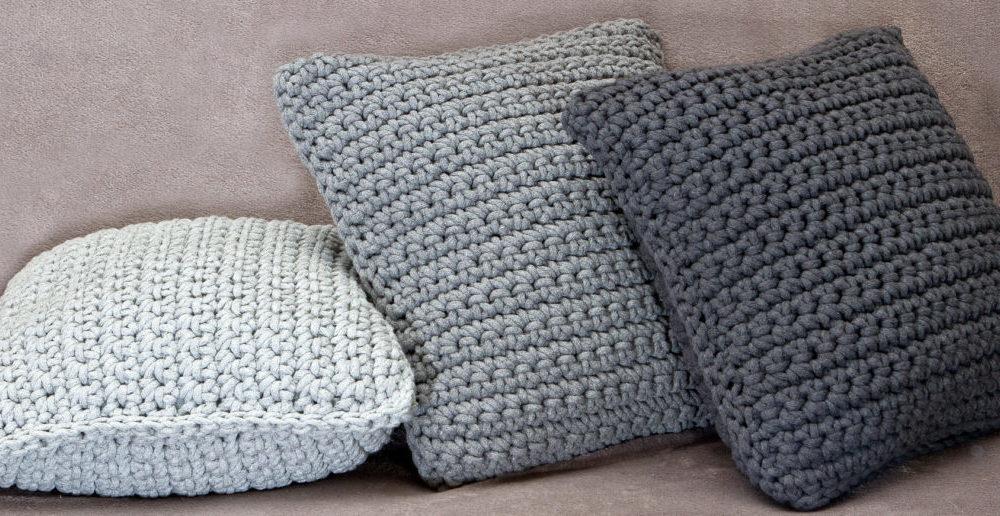 ręcznie robione poduszki